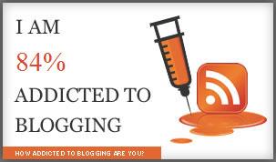 Addicted to Blogging