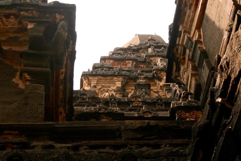 Cave 16, or The Kailashnath Temple, Ellora, MH, India.