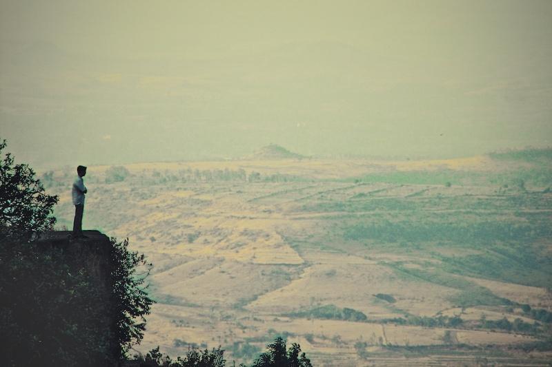 Contemplation: Panhala Fort, Kolhapur, MH, India