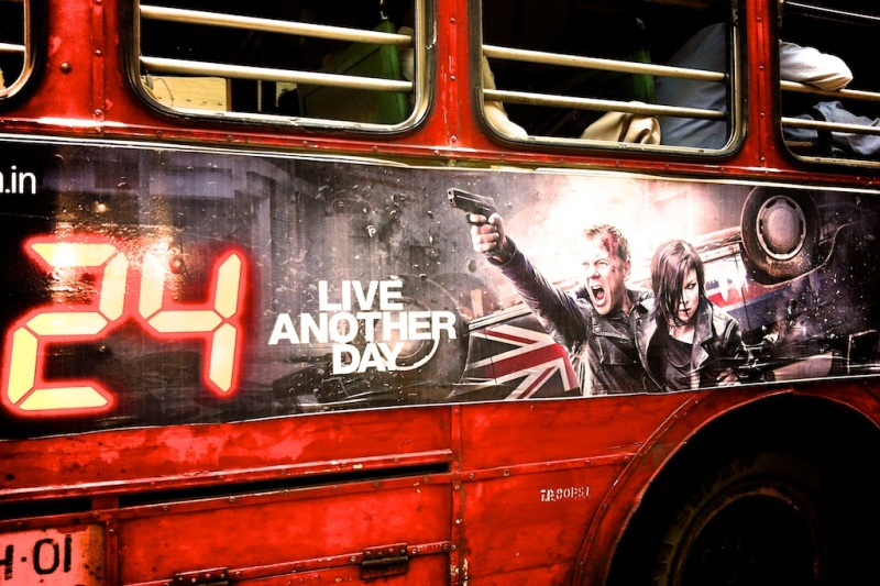 Bus Hoarding of Jack Bauer's 24