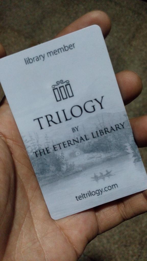 The Eternal Library - Trilogy - Membership Card