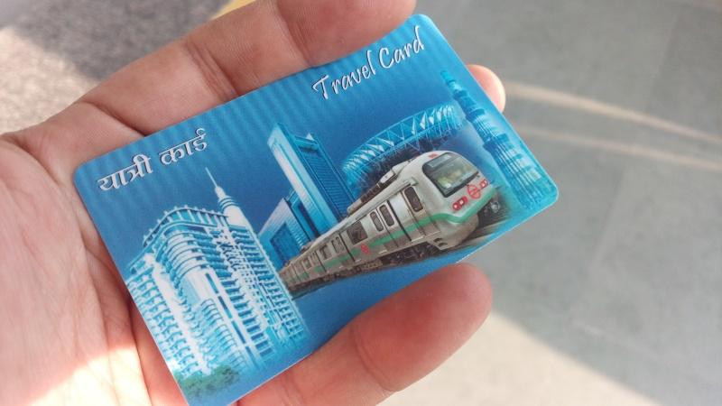 Delhi Metro Card