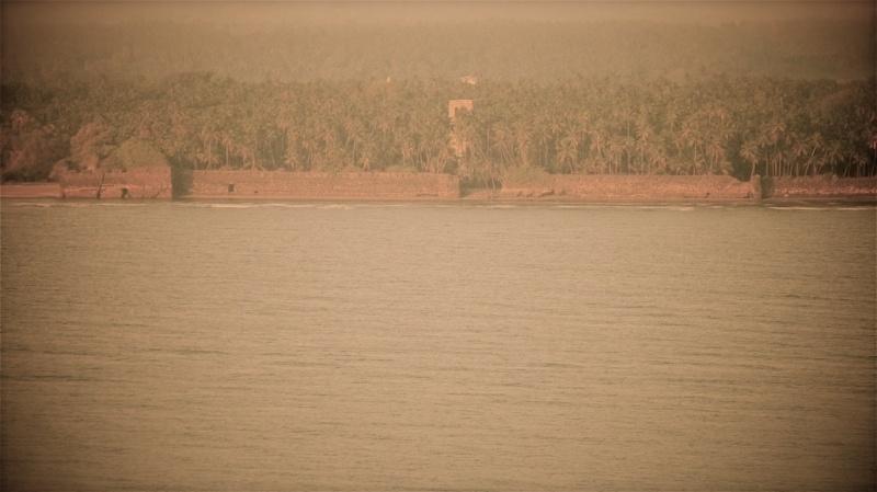 View of Revdanda Fort from Korlai Fort