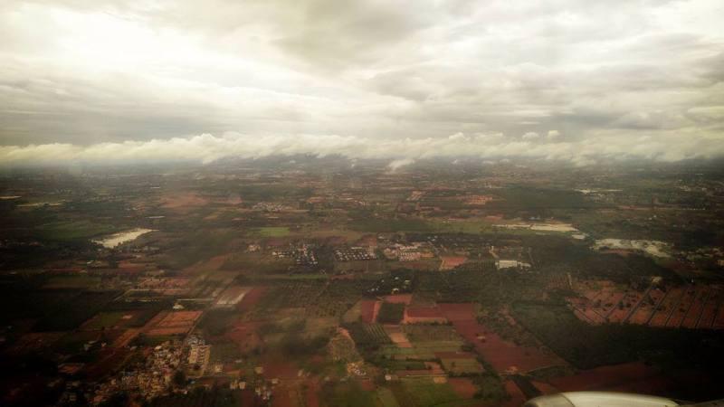 Taking off from Bengaluru Airport