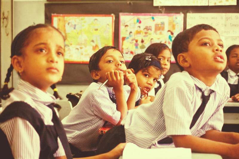 Young students, Akanksha, Teacher's Day
