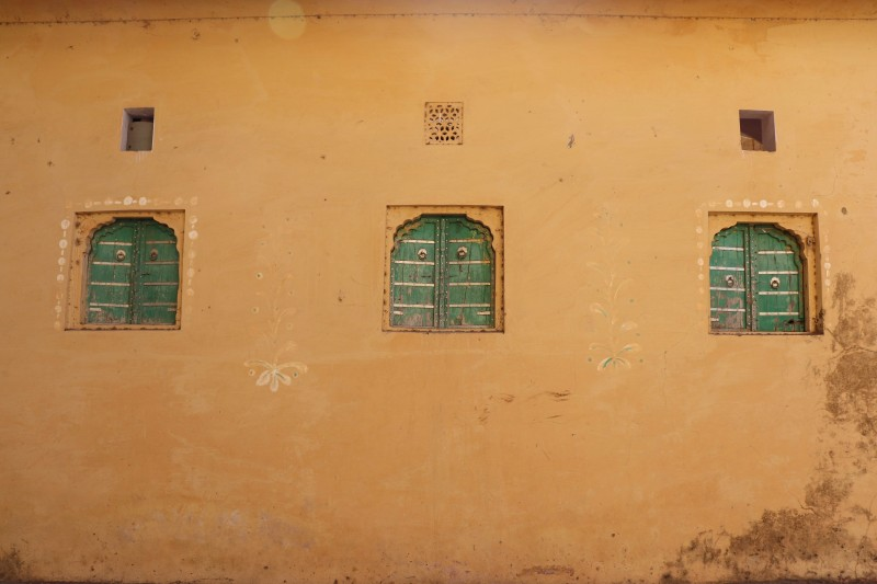 Closed Windows, Punjab, India